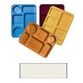 "Cambro 1220D117 - Tray Dietary 12"" x 20"", Dark Peach - Pkg Qty 12"