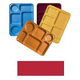 """Cambro 1220D521 - Tray Dietary 12"""" x 20"""", Cambro Red - Pkg Qty 12"""