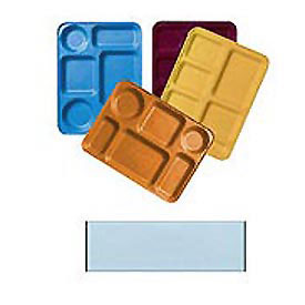 "Cambro 1222D220 - Tray Dietary 12"" x 22"", Citrus Orange - Pkg Qty 12"