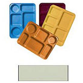 "Cambro 1222D414 - Tray Dietary 12"" x 22"", Teal - Pkg Qty 12"