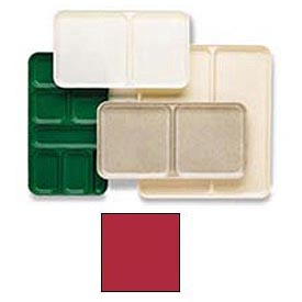 "Cambro 1520D221 - Tray Dietary 15"" x 20"", Ever Red - Pkg Qty 12"