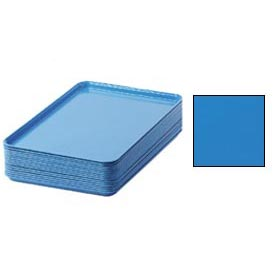 "Cambro 1826105 - Camtray 18"" x 26"" Rectangular,  Horizon Blue - Pkg Qty 6"