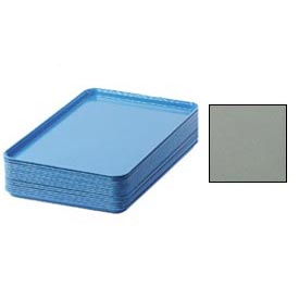 "Cambro 1826107 - Camtray 18"" x 26"" Rectangular,  Pearl Gray - Pkg Qty 6"