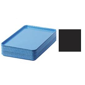 "Cambro 1826110 - Camtray 18"" x 26"" Rectangular,  Black - Pkg Qty 6"