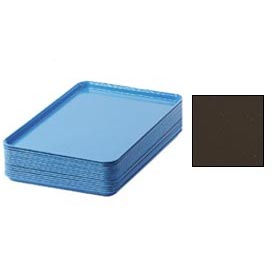 "Cambro 1826116 - Camtray 18"" x 26"" Rectangular,  Brazil Brown - Pkg Qty 6"