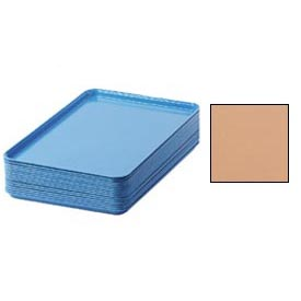 "Cambro 1826117 - Camtray 18"" x 26"" Rectangular,  Dark Peach - Pkg Qty 6"
