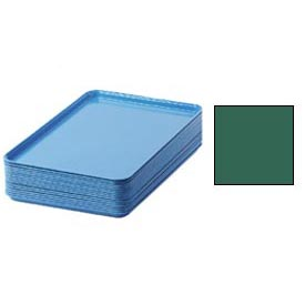 "Cambro 1826119 - Camtray 18"" x 26"" Rectangular,  Sherwood Green - Pkg Qty 6"
