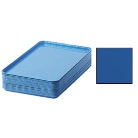 "Cambro 1826123 - Camtray 18"" x 26"" Rectangular,  Amazon Blue - Pkg Qty 6"