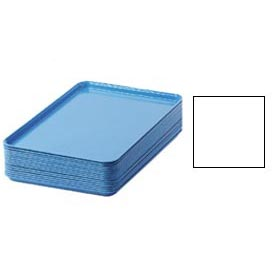 "Cambro 1826148 - Camtray 18"" x 26"" Rectangular,  White - Pkg Qty 6"