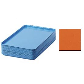 "Cambro 1826220 - Camtray 18"" x 26"" Rectangular,  Citrus Orange - Pkg Qty 6"