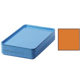"Cambro 1826222 - Camtray 18"" x 26"" Rectangular,  Orange Pizazz - Pkg Qty 6"