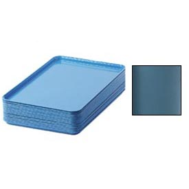 "Cambro 1826414 - Camtray 18"" x 26"" Rectangular,  Teal - Pkg Qty 6"