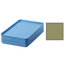 "Cambro 1826428 - Camtray 18"" x 26"" Rectangular,  Olive Green - Pkg Qty 6"