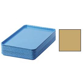 "Cambro 1826514 - Camtray 18"" x 26"" Rectangular,  Earthen Gold - Pkg Qty 6"