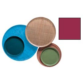 """Cambro 1950505 - Camtray 19.5"""" Round Low,  Cherry Red - Pkg Qty 12"""