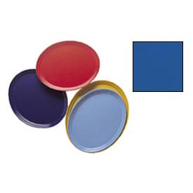 "Cambro 2500123 - Camtray 19"" x 24"" Oval,  Amazon Blue - Pkg Qty 6"