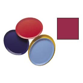 "Cambro 2500505 - Camtray 19"" x 24"" Oval,  Cherry Red - Pkg Qty 6"