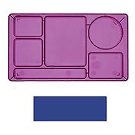 "Cambro 915CP186 - School Tray 2 x 2 9"" x 15"", Navy Blue - Pkg Qty 24"