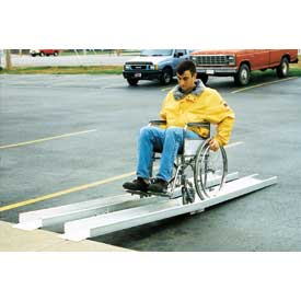 Vestil Fold-A-Way Wheelchair Ramp D-FAR-120