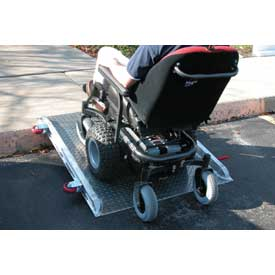 "Vestil Roll-O-Ramp Wheel Chair Ramp D-ROL-48 - 48""L x 36""W"