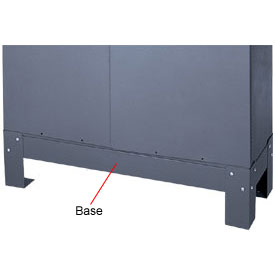 "Durham Steel  Bin Bases 382-95 - For 9"" Deep Parts Bins"
