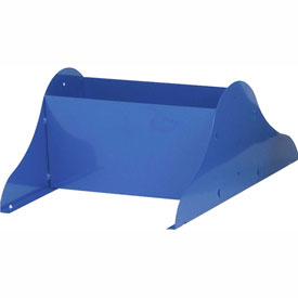 Optional Base Legs for Vertical Literature Rack - Blue
