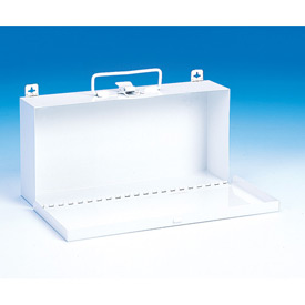 First Aid Box Metal - 10-1/2x2-1/2x5 - Pkg Qty 24