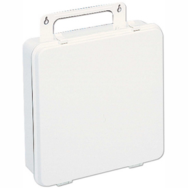 First Aid Box Polystyrene - 9-3/16x2-3/4x9-3/16 - Pkg Qty 12