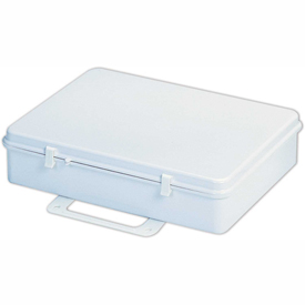 First Aid Box Polystyrene - 13-11/16x2-3/4x9-1/4 - Pkg Qty 10