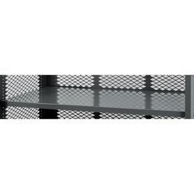 Optional Shelf MAS-3660-95 for Durham Mfg® 60x36 Three-Sided Mesh Stock Truck