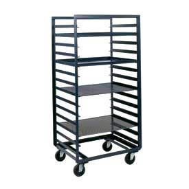 Durham Mfg® Mobile Steel Pan & Tray Rack PAT-24-4-14-95 33x24 14 Tray Capacity