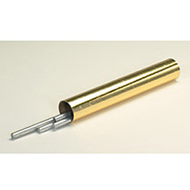 "Mailing Tube With Cap, 18""L x 2"" Diameter x 0.06 Wall Thickness, Gold, 50 Pack"