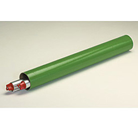 "Mailing Tube With Cap, 12""L x 2"" Diameter x 0.06 Wall Thickness, Green, 50 Pack"