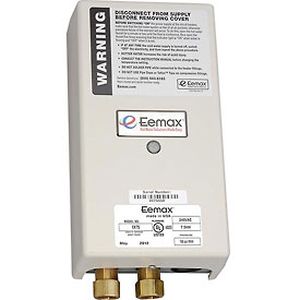 Eemax EX75 Electric Tankless Water Heater, Flo-Controlled Point Of Use - 7.5KW 240V 32A