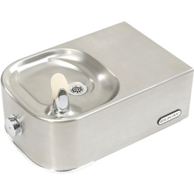 Elkay Soft Sides ADA Water Fountain, Stainless Steel, Wall Hung, EDFP214C