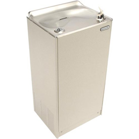 Elkay Deluxe Floor Water Cooler, Light Gray Granite, Floor, 115V, 60Hz, 5 Amps, EFA8L1Z