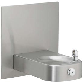 Elkay Slimline® Heavy Duty Water Fountain, Stainless Steel, VR Bubbler, Access Panel, EHWM14C