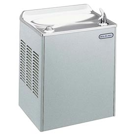 Elkay Compact Wall Mount Water Cooler, Light Gray Granite, Wall Hung, 115V, 60Hz, 8 Amps, EWCA14L1Z