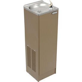 Elkay Space-Ette Floor Water Cooler, Sandalwood, Floor, 115V, 60Hz, 6.8 Amps, FD70010T1Z