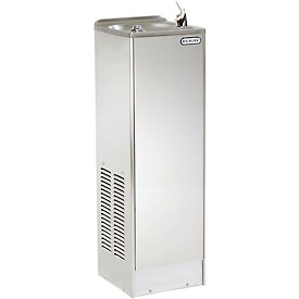 Elkay Space-Ette Floor Water Cooler, Stainless Steel, Floor, 115V, 60Hz, 3.5 Amps, FD7003S1Z