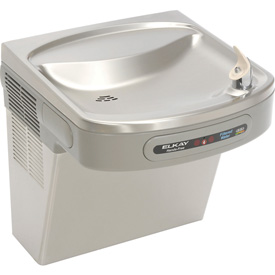 Elkay Water Cooler, Filtered, ADA Hands Free, Stainless Steel, 115V, 60Hz, 5 Amps, LZO8S
