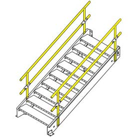 "Equipto Stairway 30""W With 4 Stairs"