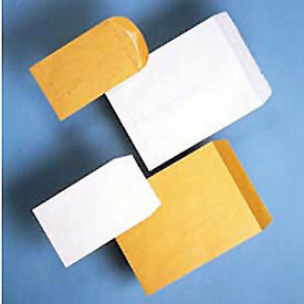Lightweight Kraft Catalog Envelopes, Gummed, 20-lb., 6 x 9, 500/Box