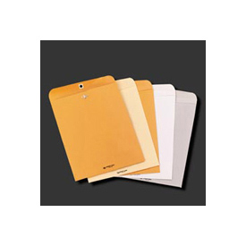Clasp Envelopes, Kraft, 11-1/2 x 14-1/2, 32-lb., 100/Box
