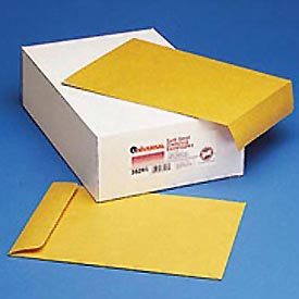 Self-Stick Heavyweight Kraft Catalog Envelopes, 28-lb., 10 x 13, 250/Box