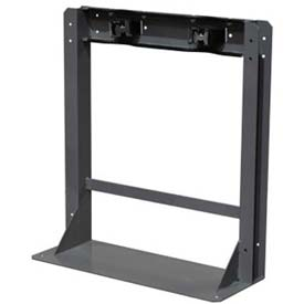 "Wall/Floor Stand, 10-1/2""W x 28""D x 30""H, 2 Cylinder Capacity"