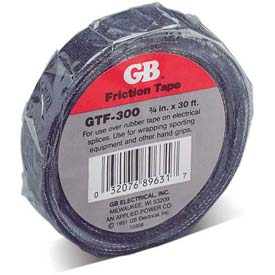 "Gardner Bender GTF-300 Friction Tape, 3/4"" X 30', Black"
