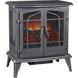 Pleasant Hearth Legacy Panoramic Electric Stove Heater - 5100 BTU SES-81-80