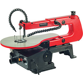 "General International BT8007 - 16"" Variable Speed Scroll Saw w/ Multi-Directional LED Light"