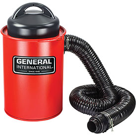 General International 13 Gallon Portable Steel Dust Collector - BT8008